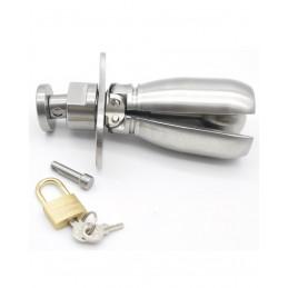 Analplug Steel Lock