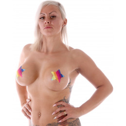 Nipplepasties Pride Star