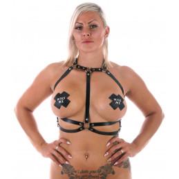 Harness Top Naken Runt Bröst