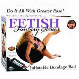 Inflatable bondage ball